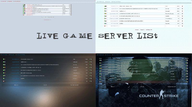 Мониторинг игровых серверов